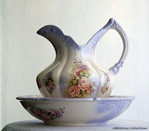 Lavender Bowl & Jug
