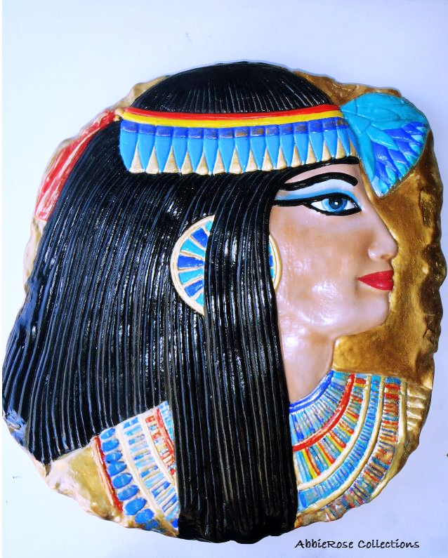 Egyptian Lady Plaque